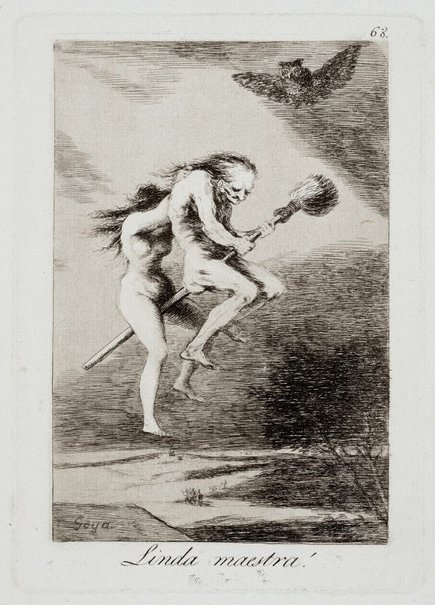 An image of Pretty teacher! by Francisco de Goya Y Lucientes