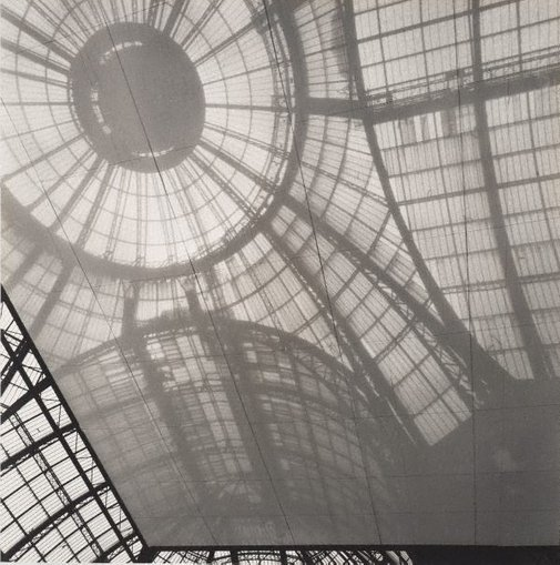 An image of Untitled (the glass dome of Grand Palais) by Max Dupain