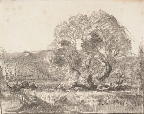 An image of Hahndorf by Hans Heysen