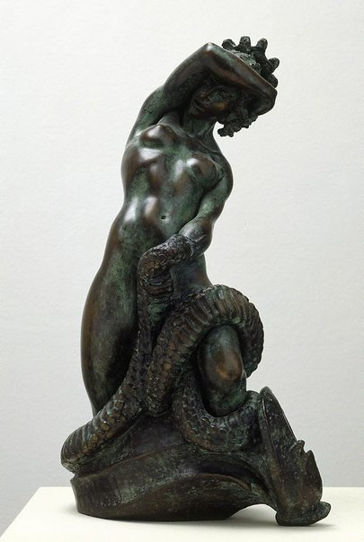 An image of Medusa by Barbara Tribe