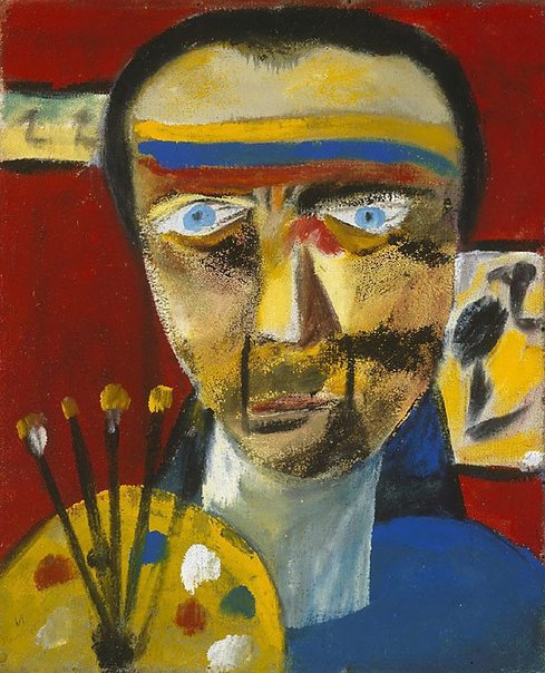 An image of Self portrait by Sidney Nolan