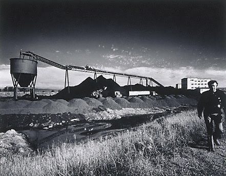 An image of Lemington Colliery by Max Dupain