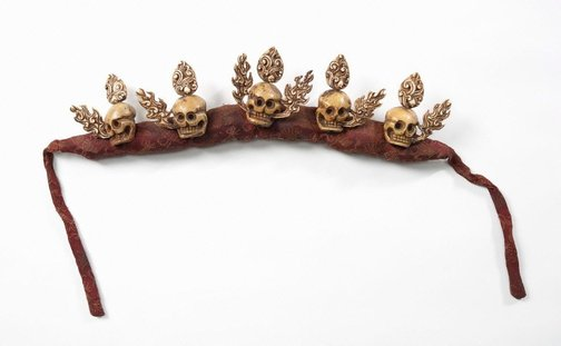 An image of Skull crown by
