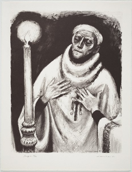 An image of The relieving priest by Noel Counihan
