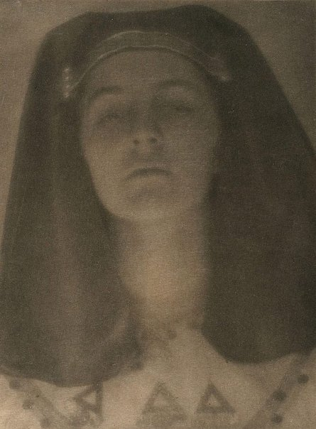 An image of Egyptian princess c1906-09, from Camera Work, no 27, July 1909 by Herbert Greer French