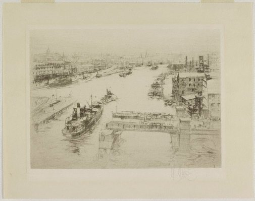 An image of The Tyne by William Walcot