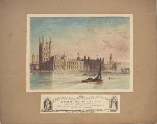 An image of New Houses of Parliament by Unknown