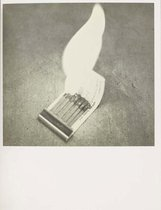 An image of Various small fires and milk by Edward Ruscha