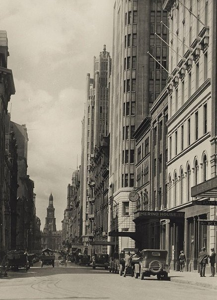 An image of York Street, Sydney by Henri Mallard
