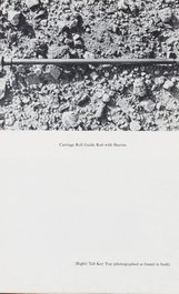 An image of Royal road test by Edward Ruscha
