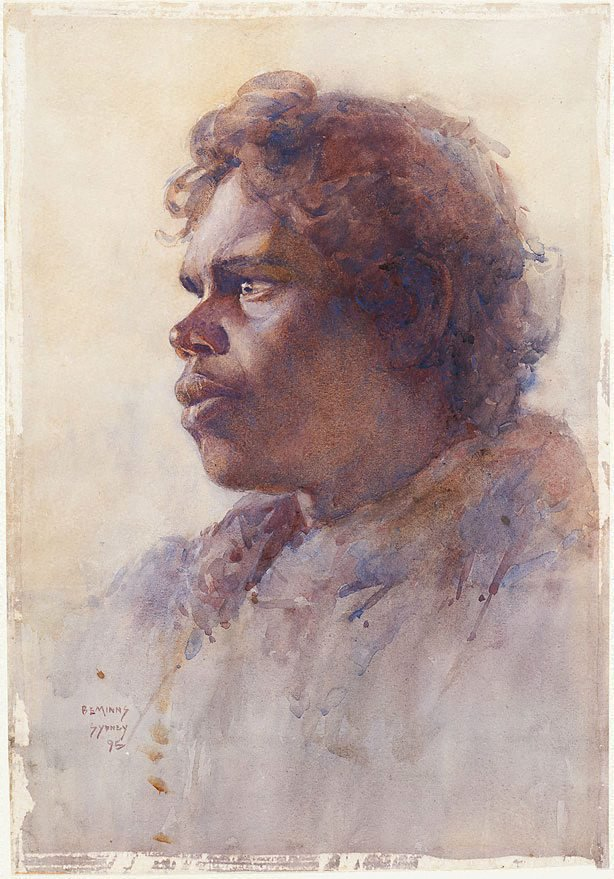 An image of Australian Aboriginal female, Sydney