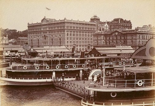 An image of North Shore ferry. Circular Quay by Unknown
