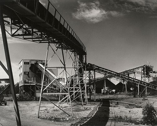An image of No.2 wash plant at Lemington Colliery by Max Dupain