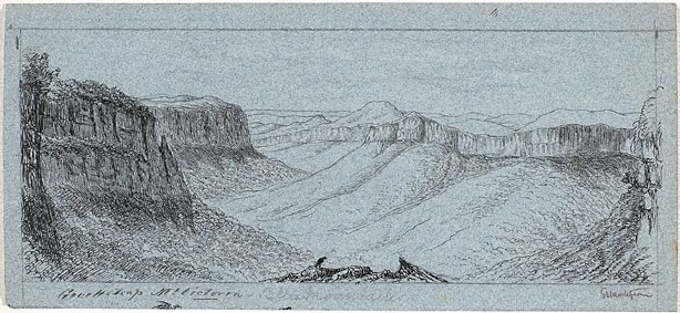 An image of Govett's Leap, Mount Victoria