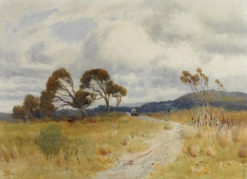 An image of Sheoak hill by John Mather