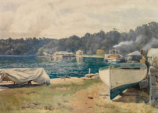 An image of Mosman's Bay by John Mather