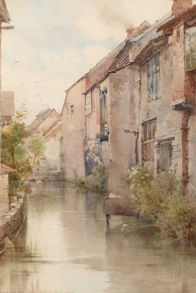 An image of The Dyer's Brook, Kingswood by Edward Henry Fahey