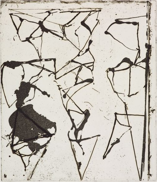 An image of 9 by Brice Marden