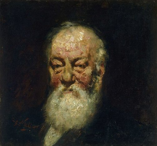 An image of Portrait of Mr Leach by Girolamo Nerli