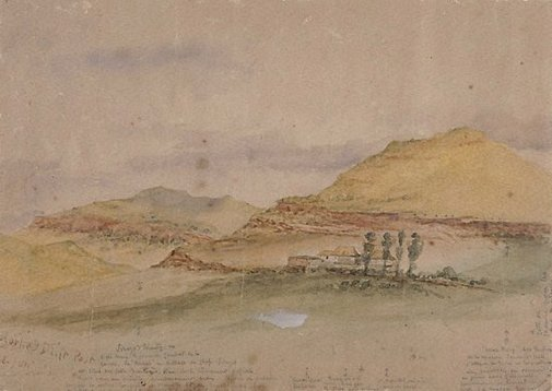 An image of Rorke's Drift Post by Lieut-Col Henry James Degacher