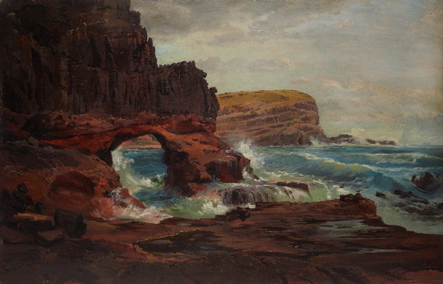 An image of Tunnel Rock, Cape Schanck, Victoria