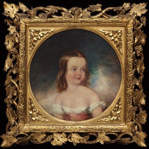 An image of Helen Mary Dickinson (aged two years) by Marshall Claxton
