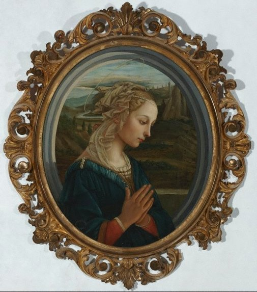An image of Madonna by Unknown, after Filippo di Tomaso Lippi