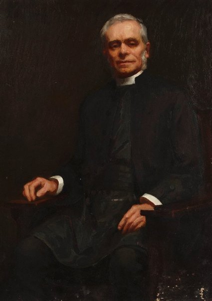 An image of The Reverend Canon Boyce by Julian Ashton