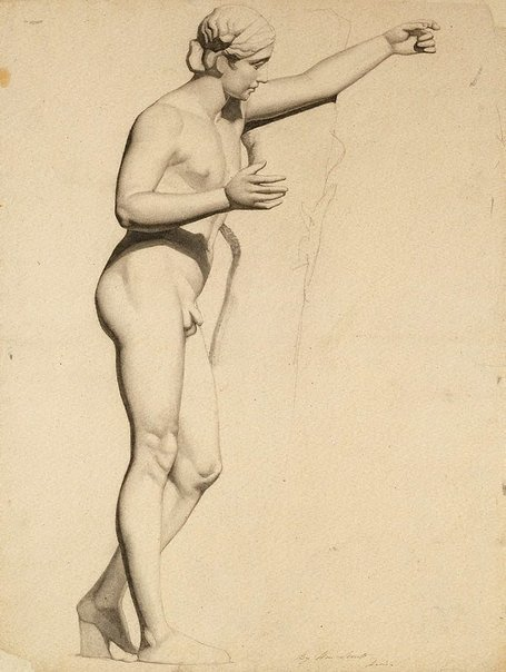 An image of Apollo by William Strutt