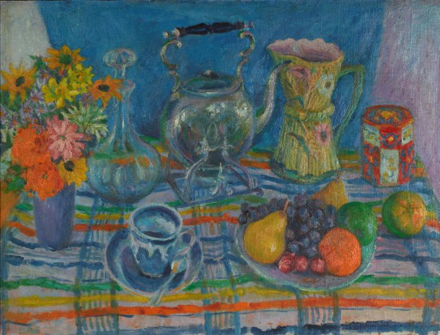 An image of Still life with kettle