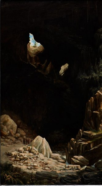 An image of Devil's Coach-house, Fish River Caves by Lucien Henry