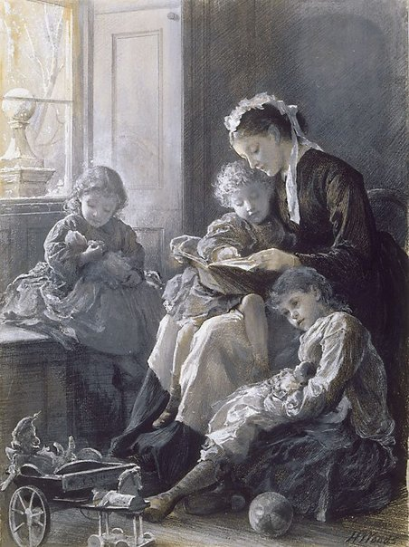 An image of The convalescent by Henry Woods