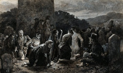 An image of An Irish patern by Charles Green