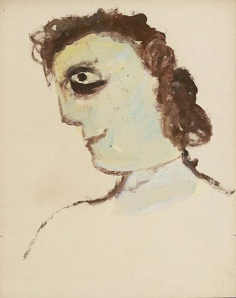 An image of Head by Sidney Nolan