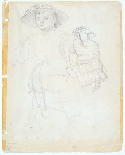 An image of Study for 'Margaret Olley' by William Dobell
