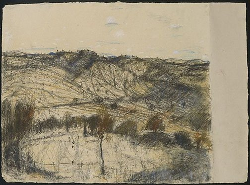 An image of Coolah by John Olsen