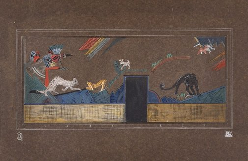 An image of Mural design by Roy de Maistre