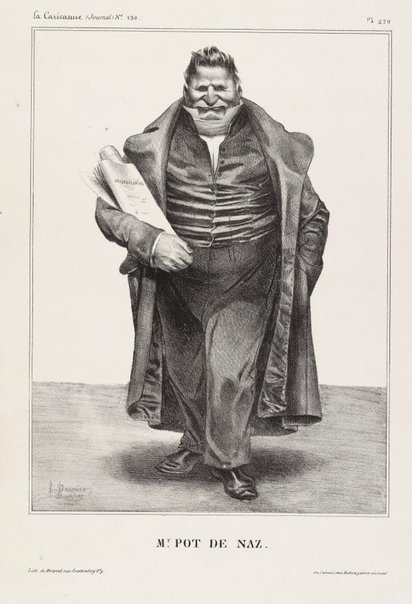 An image of Mr scum bag by Honoré Daumier