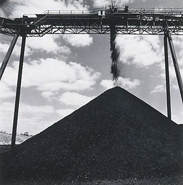 An image of Conveyor at Lemington Colliery by Max Dupain