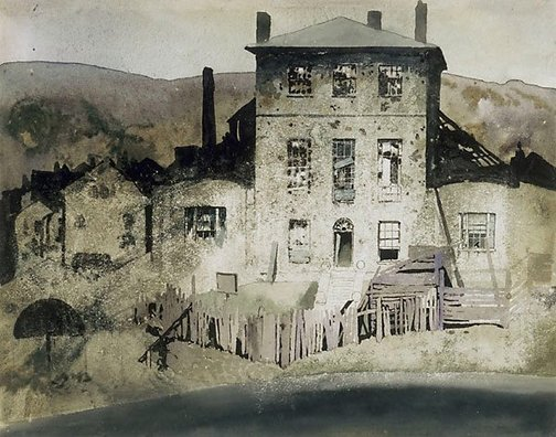 An image of Rat's castle, Hobart by Blamire Young