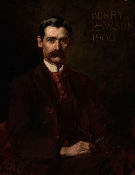 An image of Henry Lawson by John Longstaff