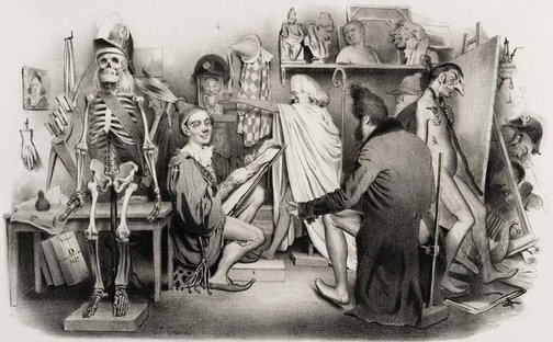 An image of Studio of La Caricture and Le Charivari by Charles-Joseph Traviès de Villers