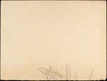 Alternate image of recto: Reclining figure verso: Drawing of shoes (probably not by Miller) by Godfrey Miller