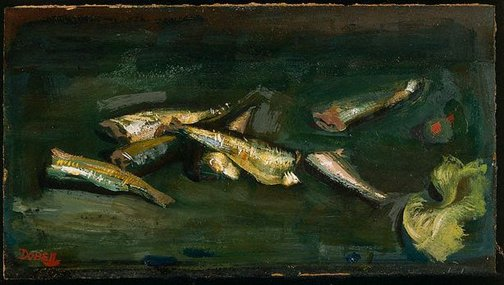 An image of Pilchards by William Dobell