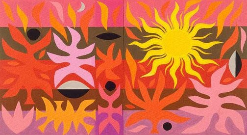 An image of Design for 'Curtain of the Sun', Sydney Opera House (2nd Version) by John Coburn
