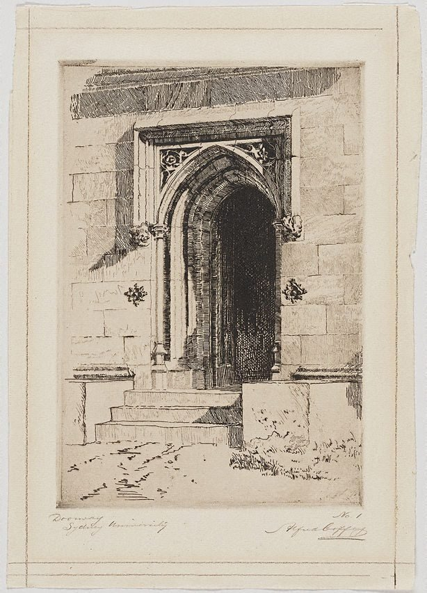 An image of Doorway, Sydney University