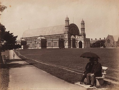 An image of Prince Alfred Exhibition, Prince Alfred Park, Sydney by Henry King