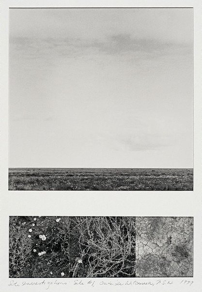 An image of Site investigations: site #1, outside Wilcannia, New South Wales by Lynn Silverman