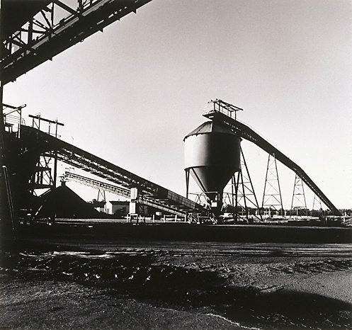 An image of Conveyors at Lemington Colliery by Max Dupain