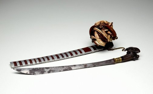 An image of 'Balatu Sebua' (sword with sheath) by